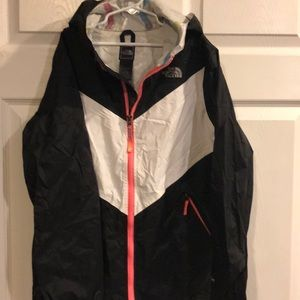 The North face kids raincoat size large